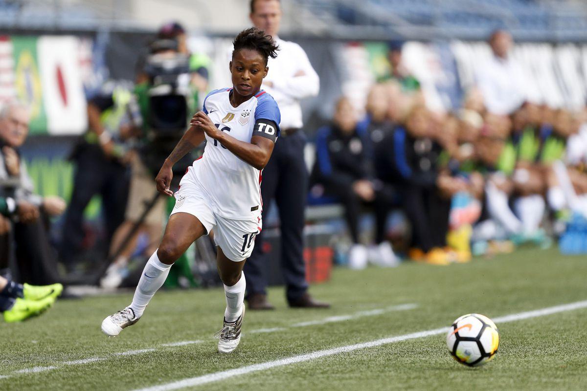 Soccer: Tournament of Nations Women's Soccer-Australia at USA