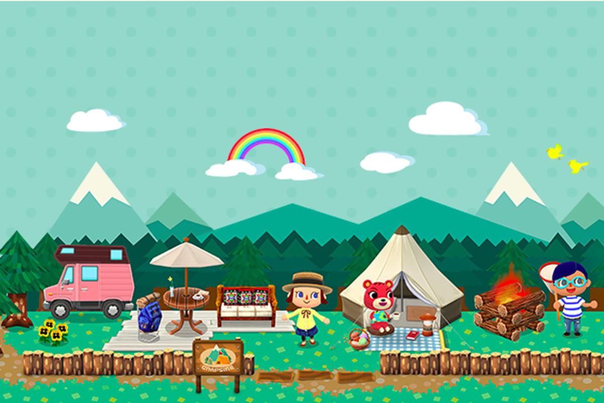 animal crossing pocket camp art