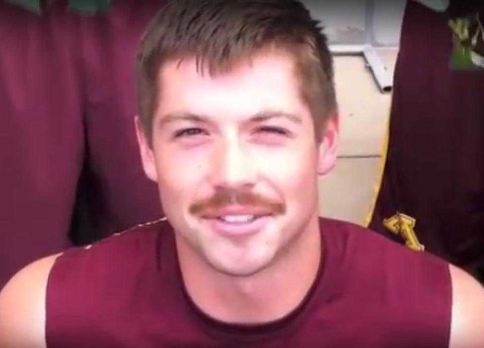 Peter Mortell Mustache