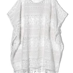 Lace beach cover-up, $69.95