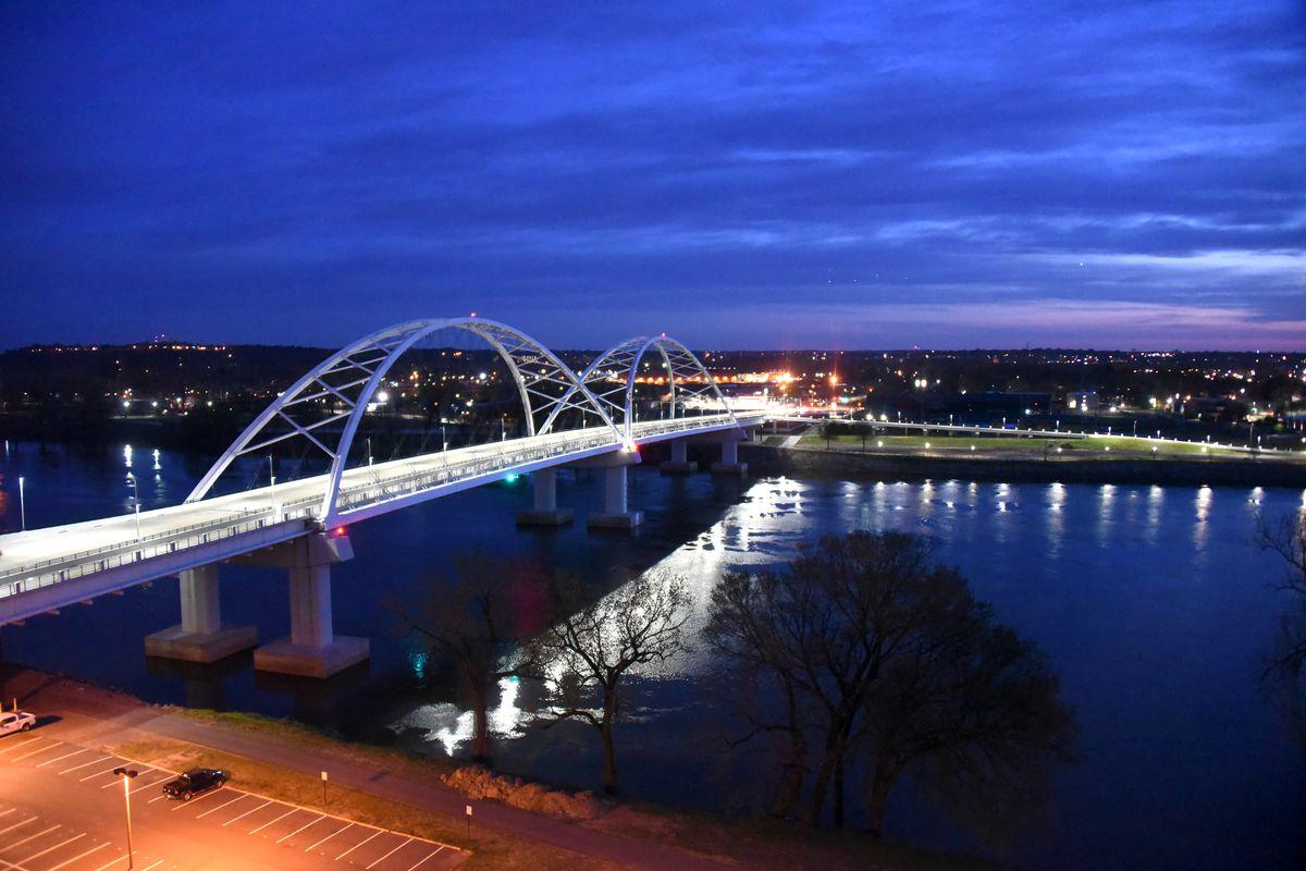 Little Rock, the capital of Arkansas...