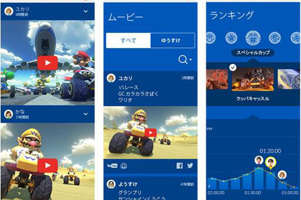 Nintendo launching smartphone service with Mario Kart TV app