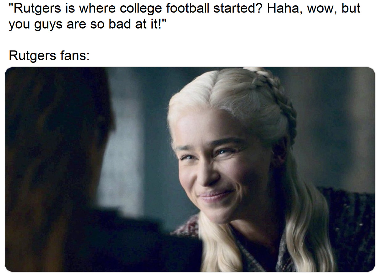 The Rutgers Football Experience via Memes - Off Tackle Empire
