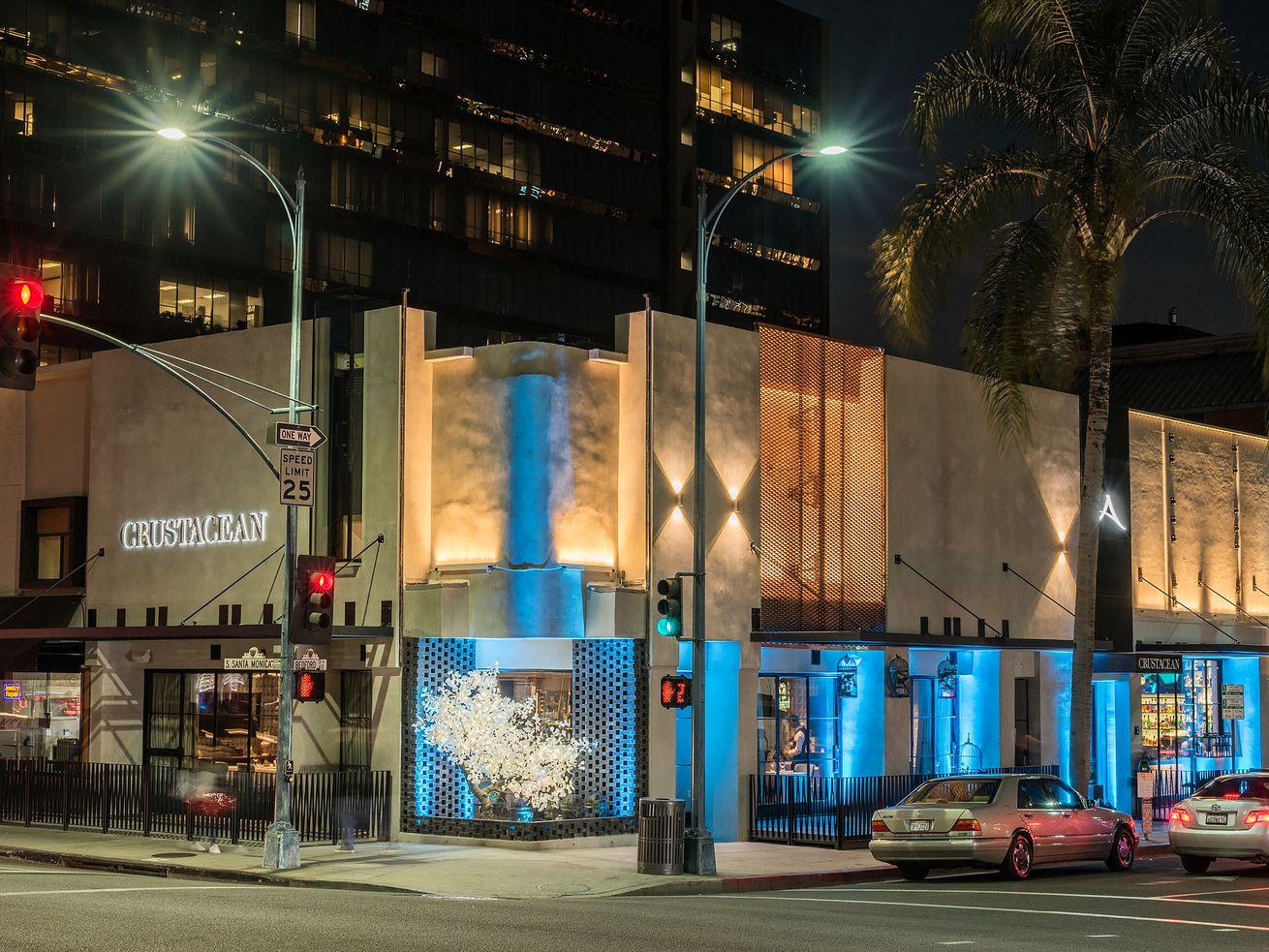 Crustacean restaurant in Beverly Hills.