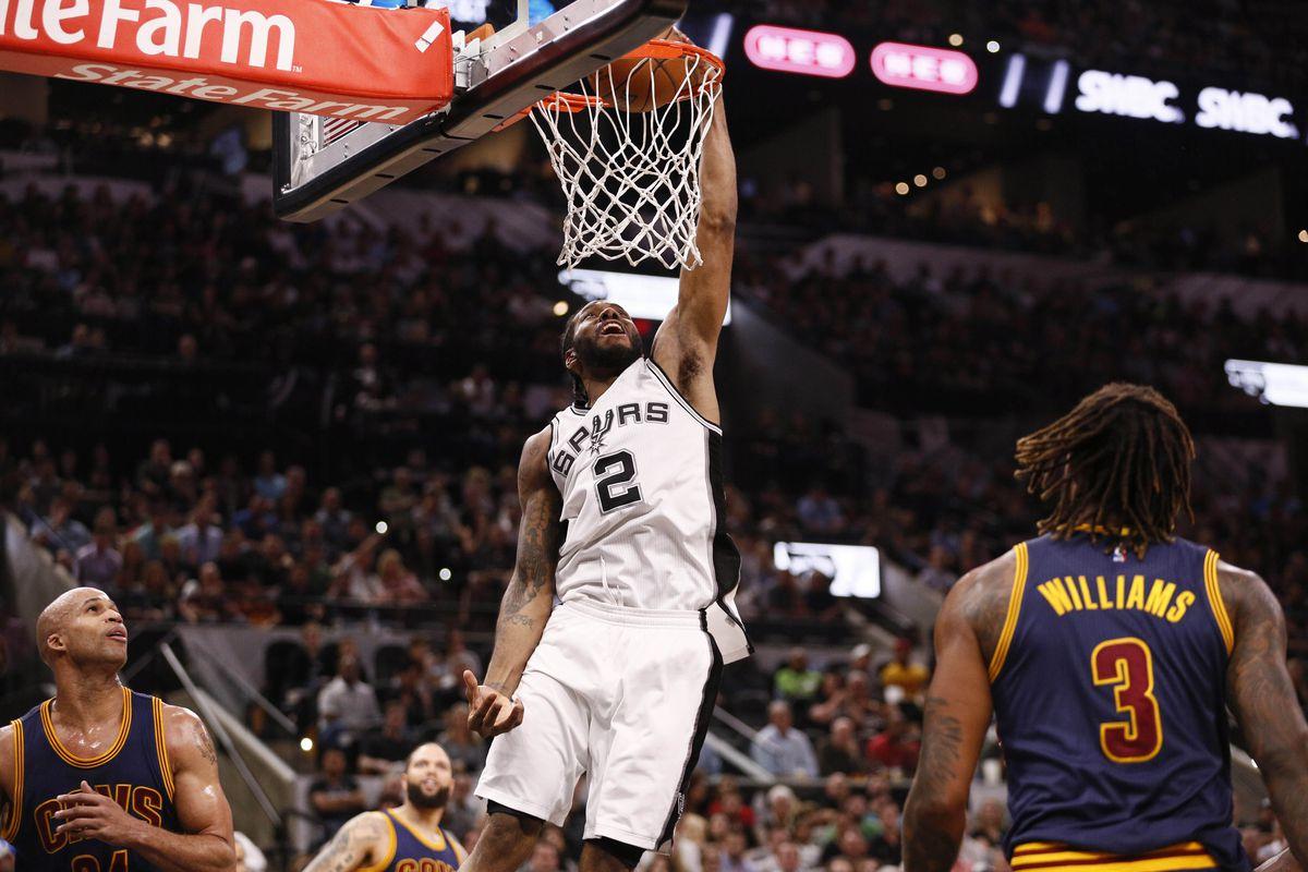 NBA Scores 2017: The Spurs Trounced The Cavaliers Like It