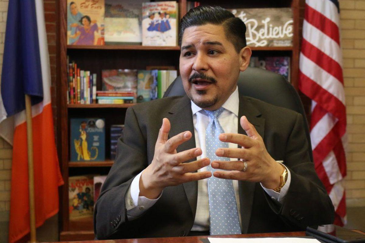 New York City Schools Chancellor Richard  Carranza