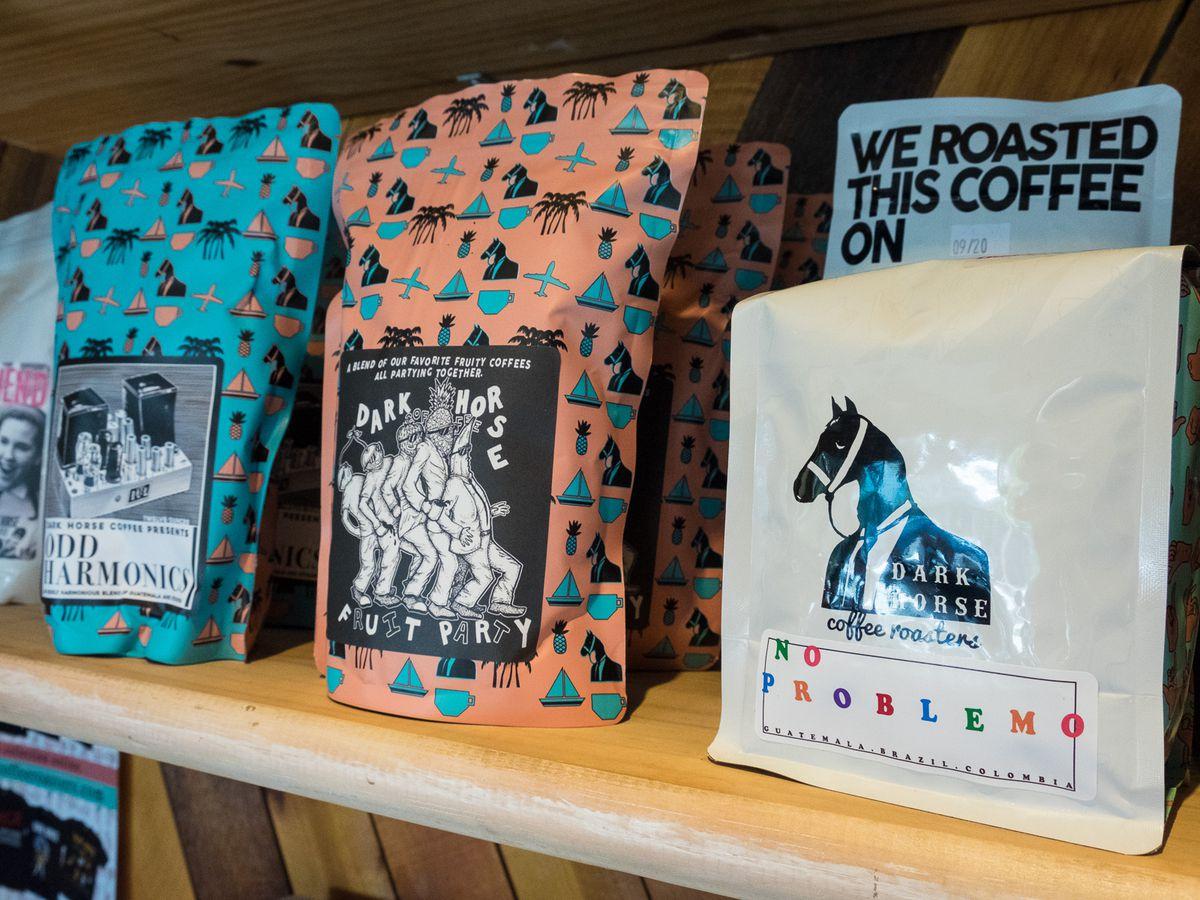 Dark Horse Coffee Roasters beans