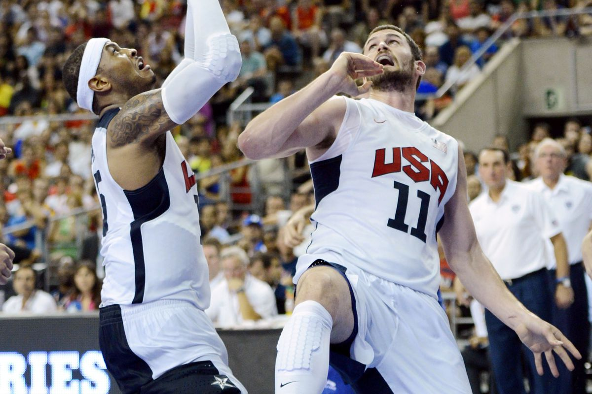 It may be difficult, but acquiring both Kevin Love and Carmelo Anthony is possible.