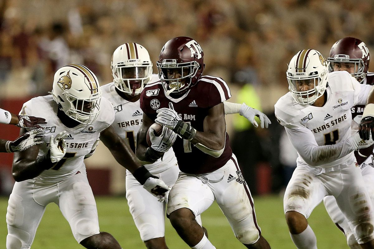 By the Numbers: Texas A&M 41, Texas State 7 - Good Bull Hunting