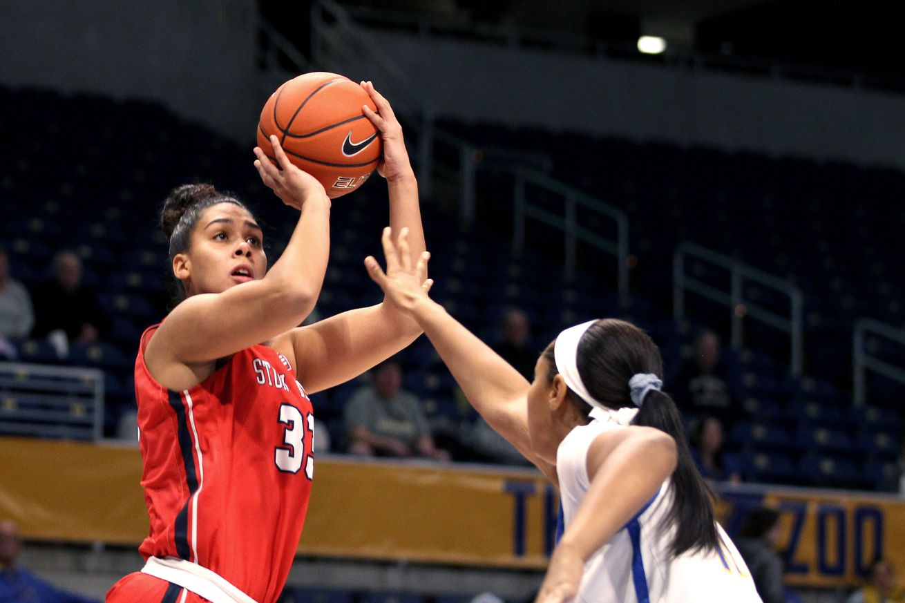 COLLEGE BASKETBALL: DEC 08 Women's Stony Brook at Pitt