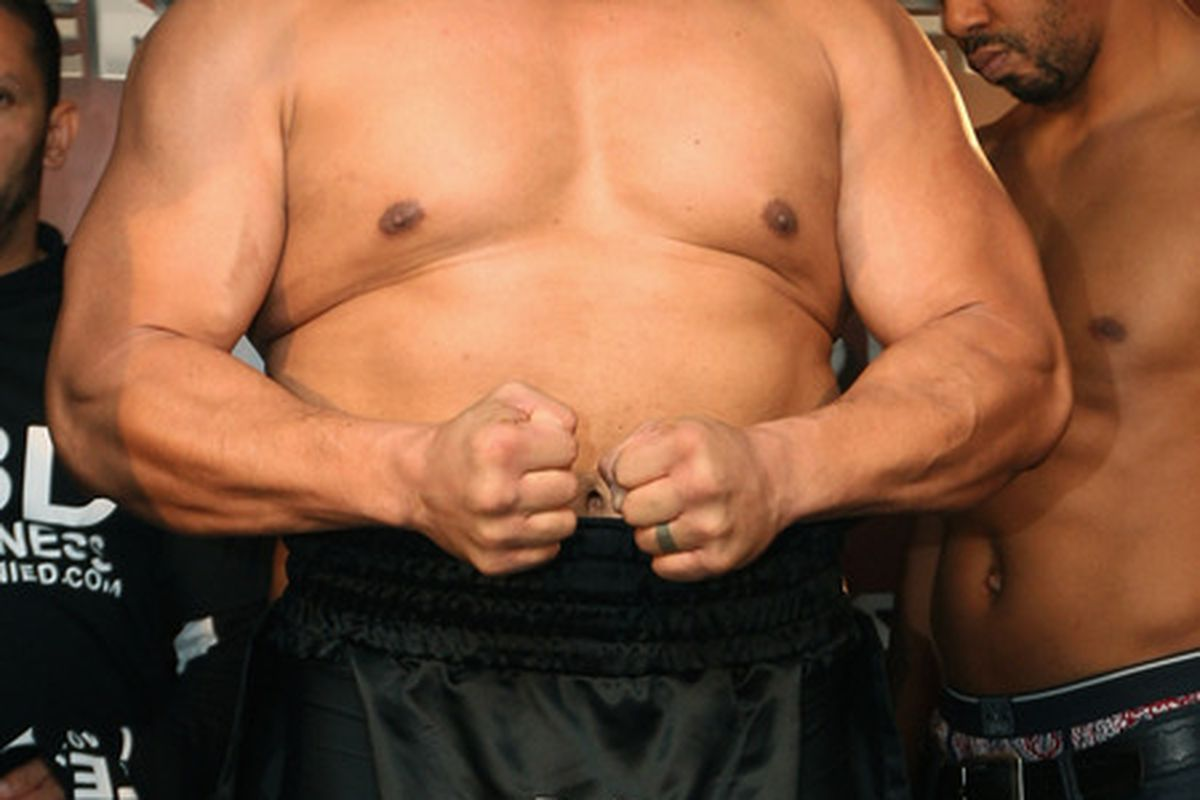 David Tua's career is on the line this morning in New Zealand. (Photo by Sandra Mu/Getty Images)