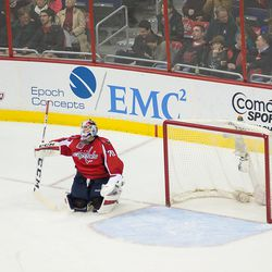 Holtby Takes a Moment