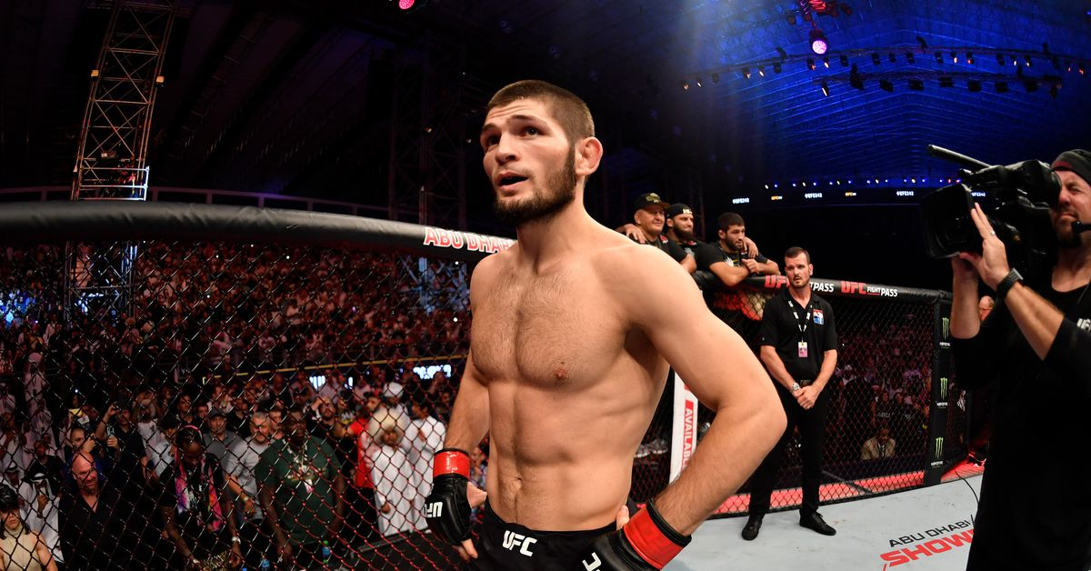 Khabib Says Staying Undefeated Is Impossible