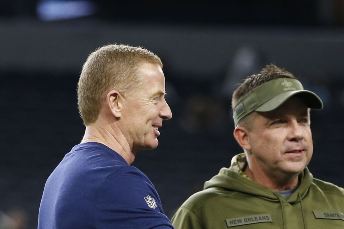 Cowboys hot topic  How Jason Garrett improved his job security by  out-coaching Sean Payton 1b386f19f
