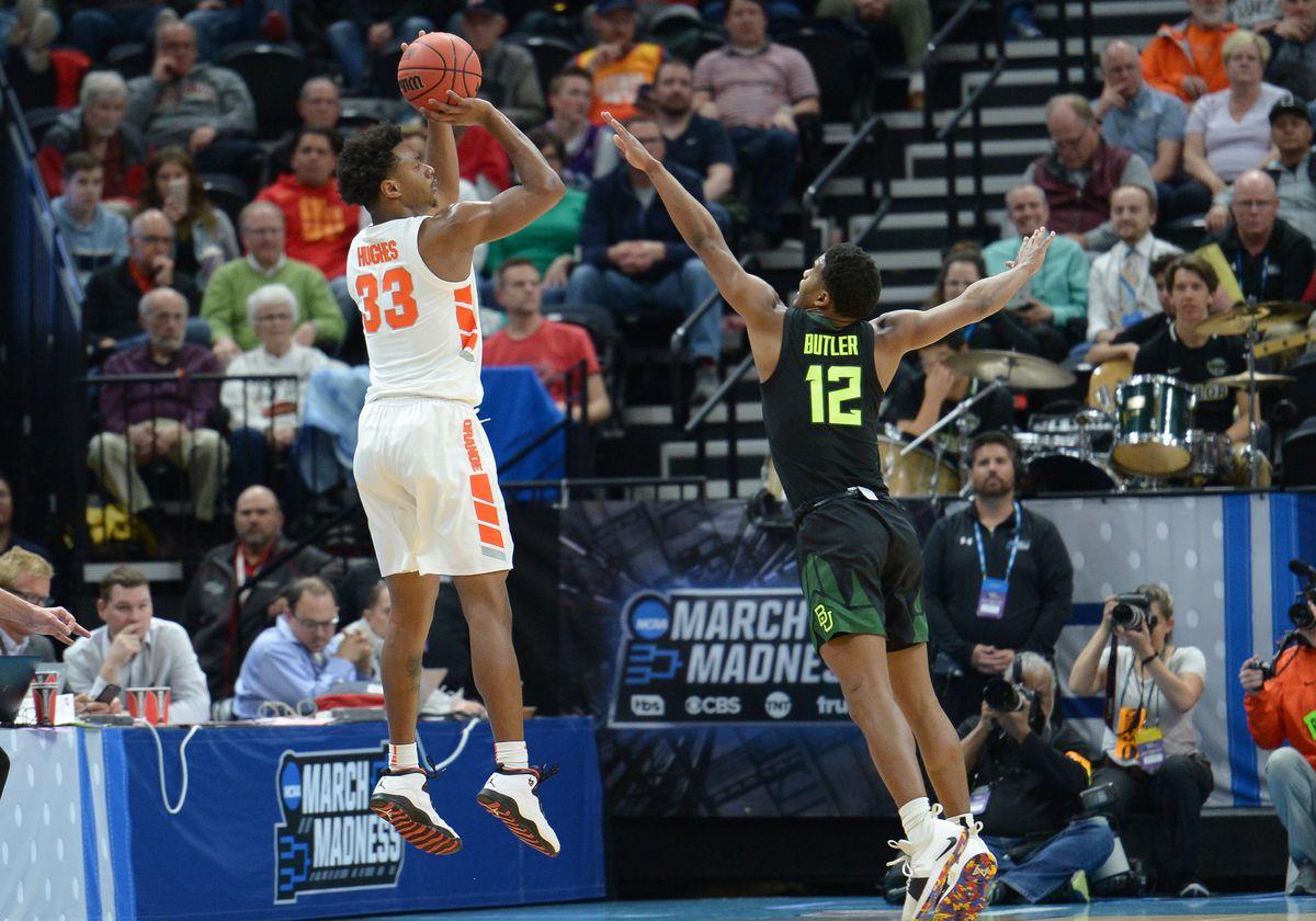 NCAA BASKETBALL: MAR 21 Div I Men's Championship - First Round - Syracuse v Baylor