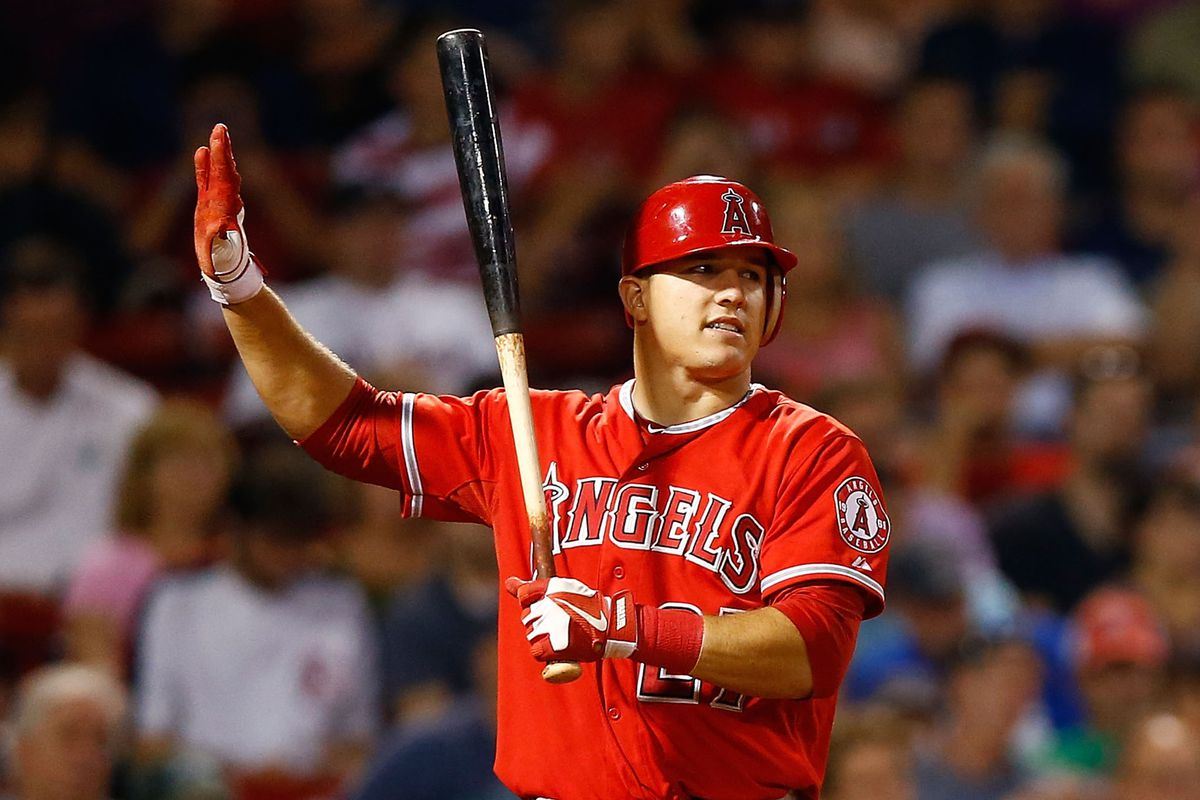 Mike Trout is an example of how complicated it is determining who should be drafted where.