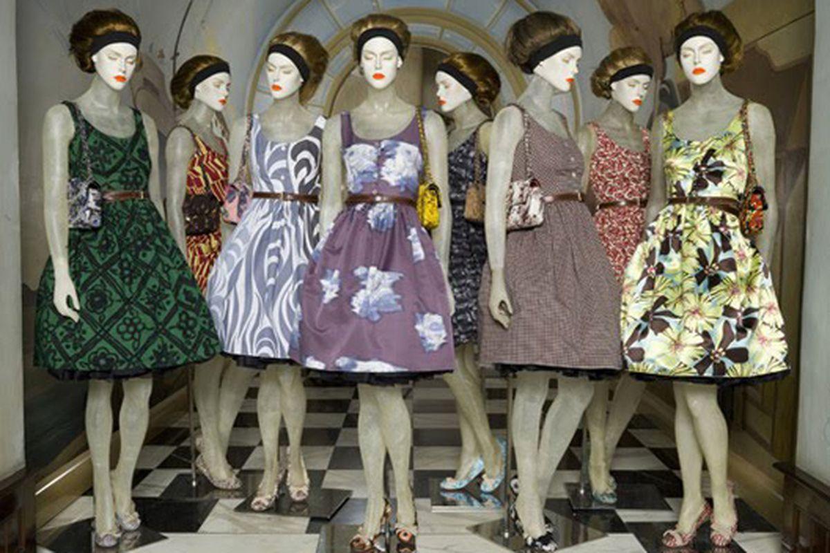 "Image via <a href=""http://madisonavespy.blogspot.com/2010/05/perfect-prada-dresses.html"">Madison Avenue Spy</a>"