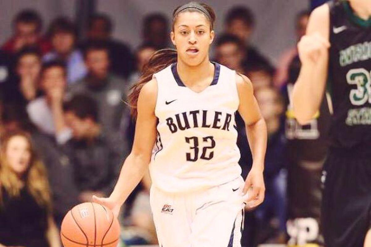 Butler guard Loryn Goodwin