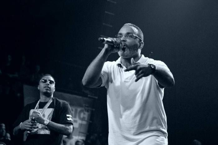 Extra P joins Nas on stage at SXSW 2016