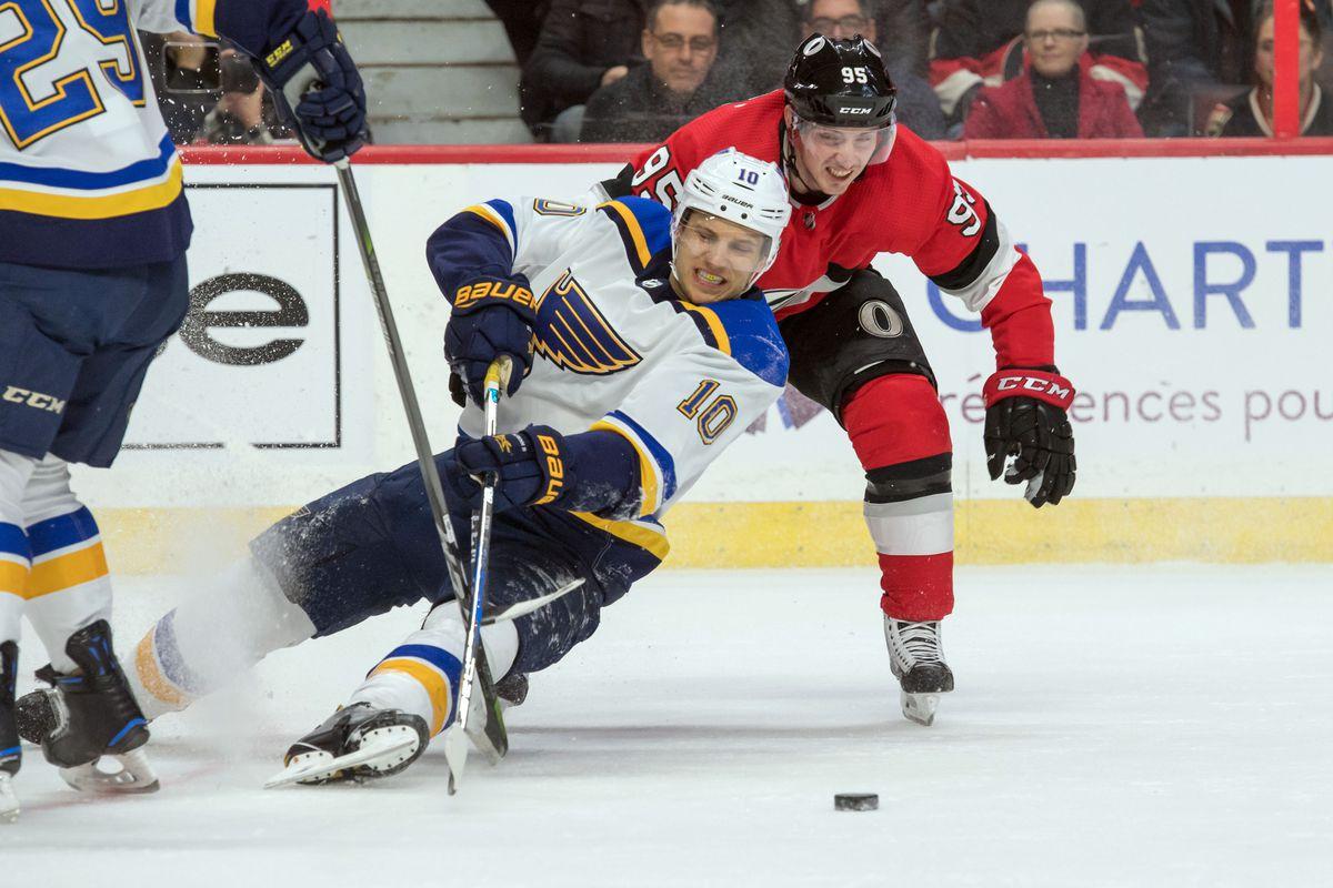 NHL: St. Louis Blues at Ottawa Senators