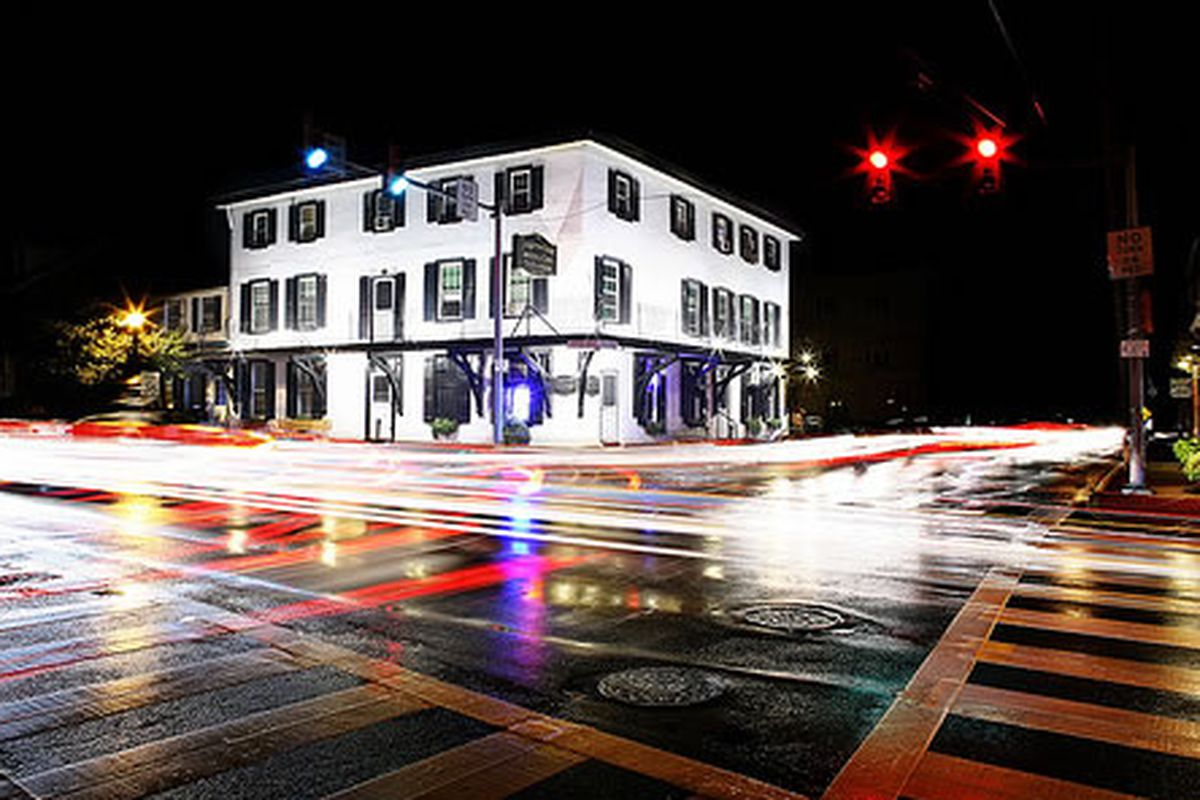A scammer recently hit the Langhorne Hotel.
