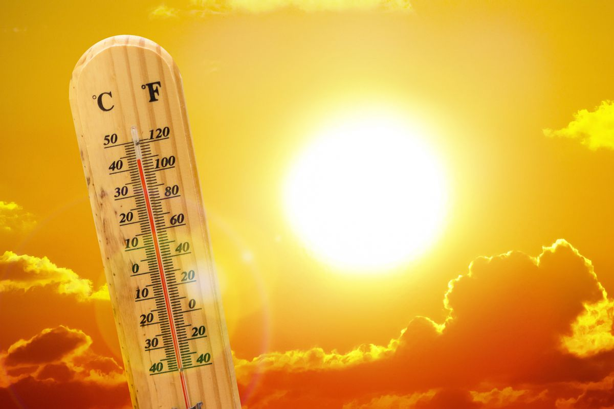 thermometer and the sun