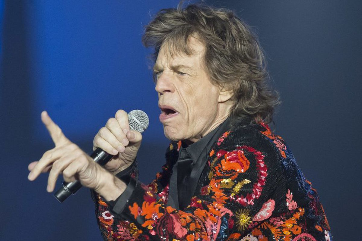 Mick Jagger performs with the Rolling Stones in France in 2017. | Michel Euler/AP