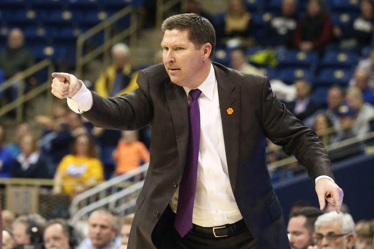 NCAA Basketball: Clemson at Pittsburgh