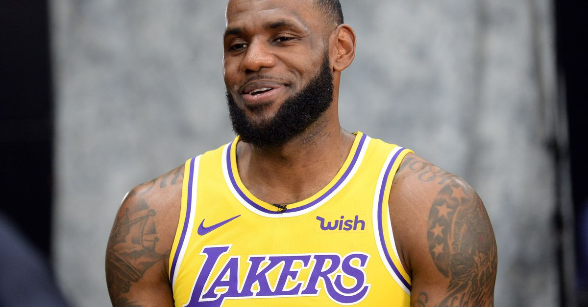 See the new Lakers jerseys LeBron James & Co. wore at media day? You can order one, too