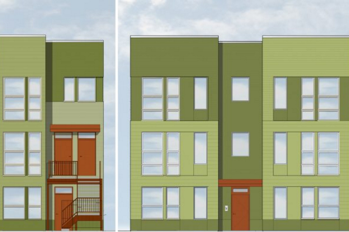 a dozen units of affordable housing near 606 ready for
