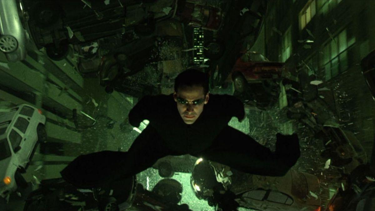 Still from The Matrix Reloaded