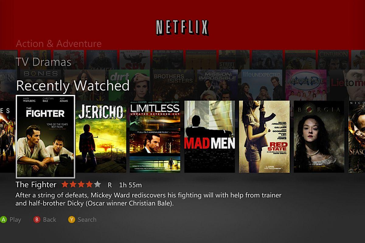Netflix for Xbox Live 2011