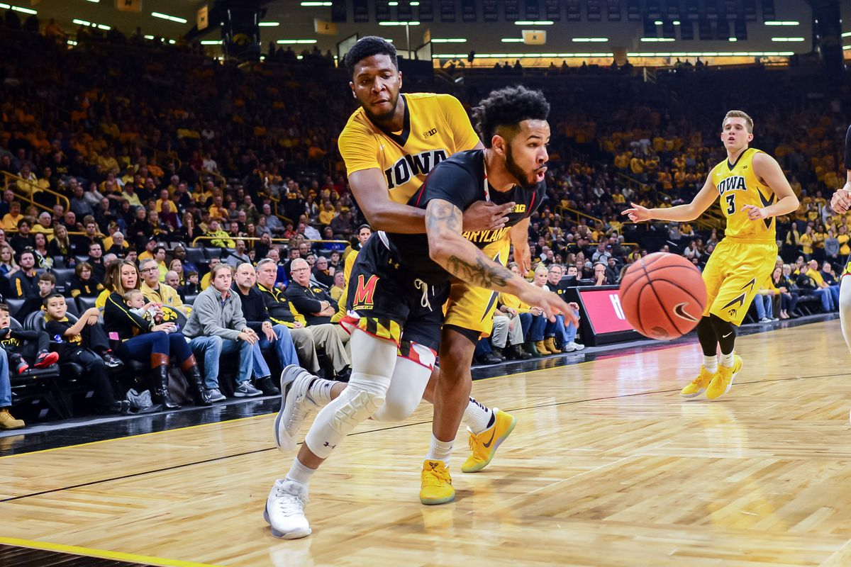 Image result for maryland iowa basketball