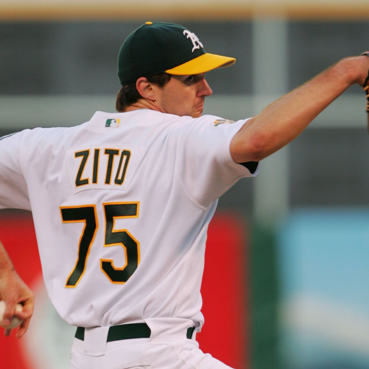 sneakers for cheap 97120 6a0a7 Oakland A's pitchers and catchers report: Barry Zito, Sean ...