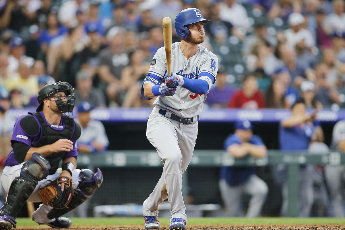 MLB: JUL 30 Dodgers at Rockies