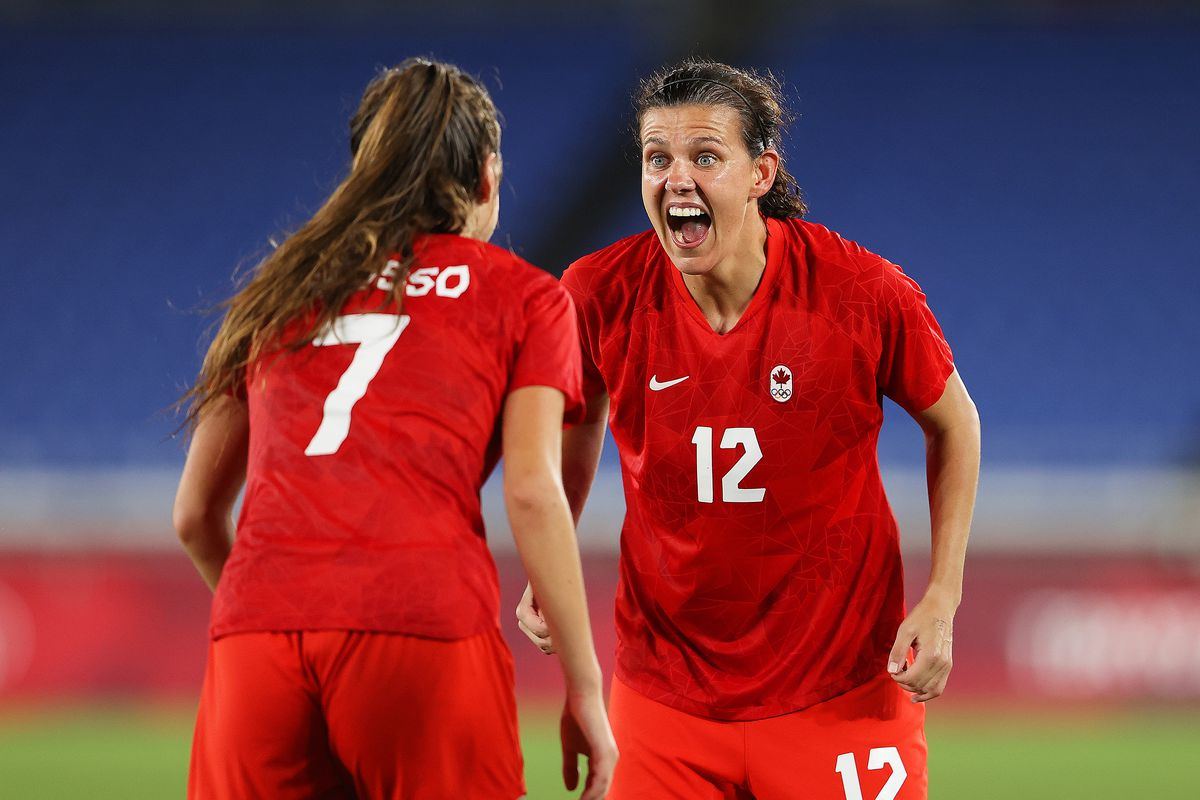 Sinclair and Canada win Olympic gold via the penalty spot - Stumptown Footy