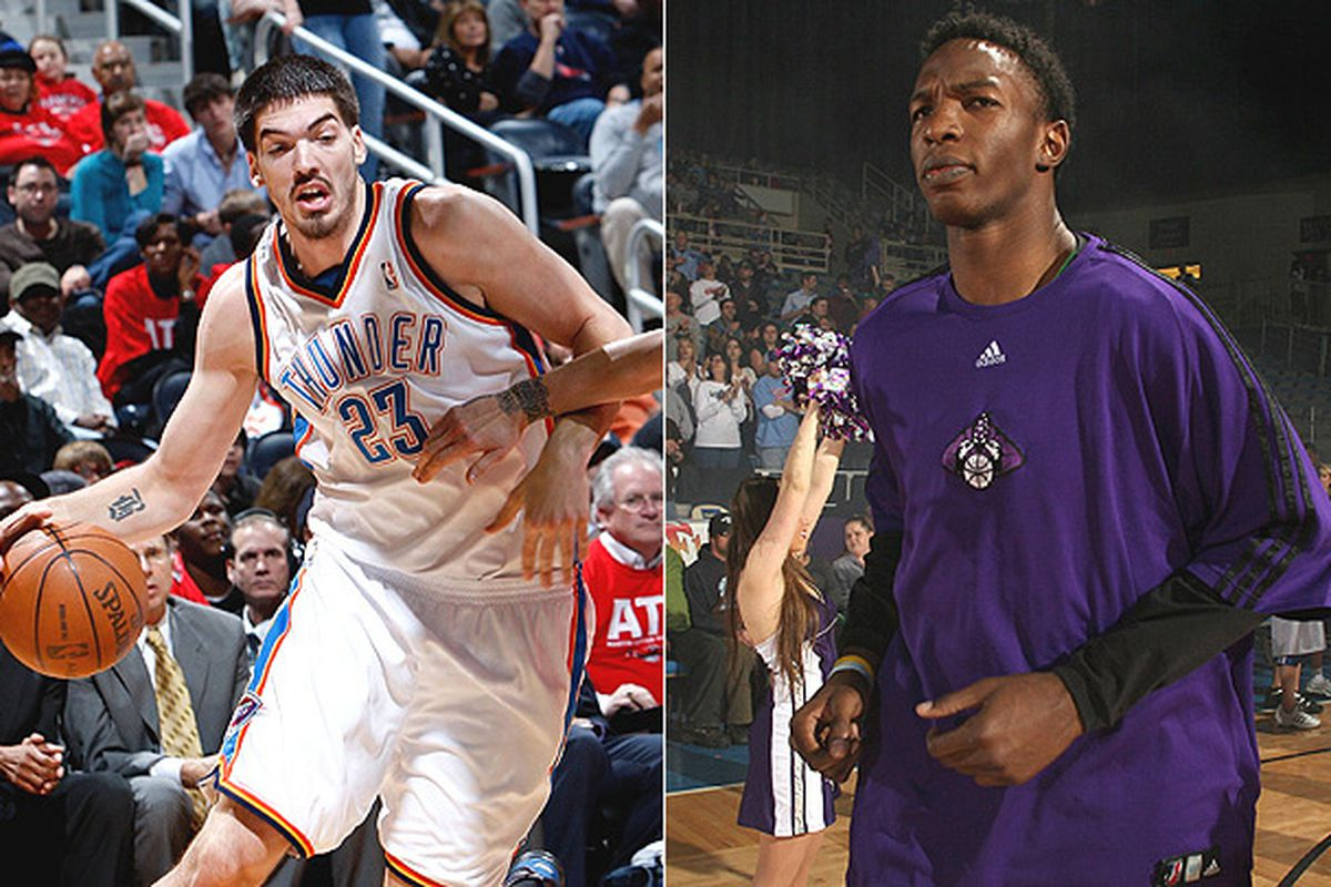 """Byron Mullens! Hasheem Thabeet! Tonight! Live on Futurecast! Also, I stole this off of <a href=""""http://www.nba.com/dleague/"""" target=""""new"""">D-League.com</a>. Both pictures are awesome."""