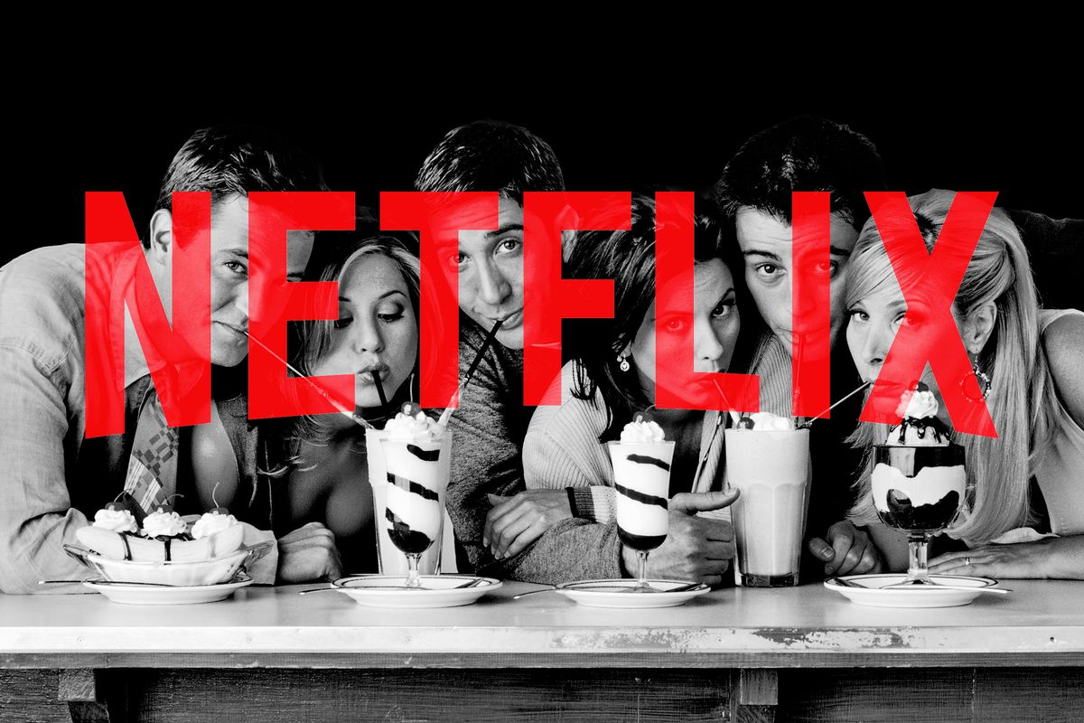 netflix is willing to pay a premium for  u2018friends u2019