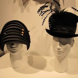Eric Corey Freed and Louise Green hats