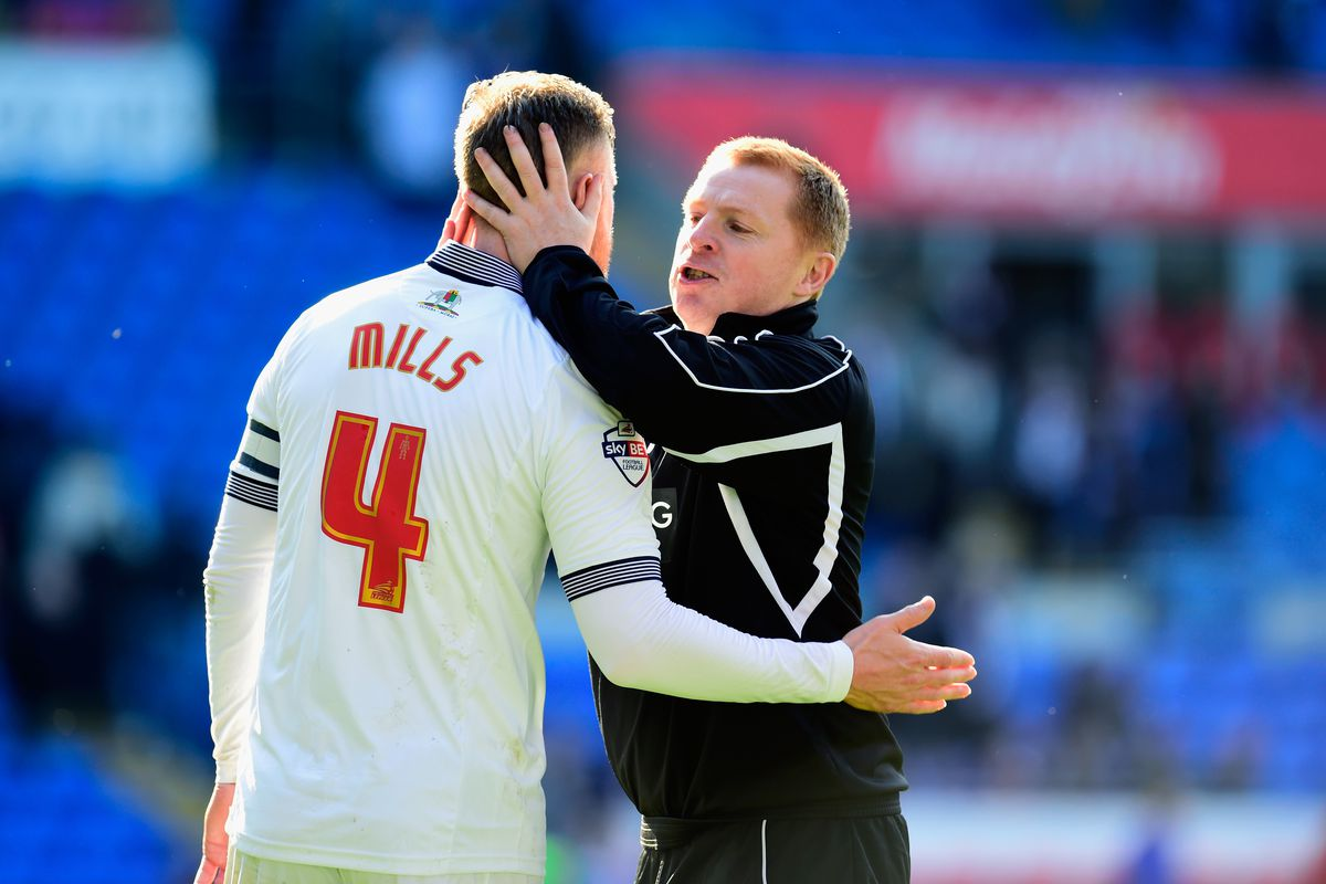 Matt Mills is recalled to the starting lineup this evening after missing the weekend clash with Norwich City