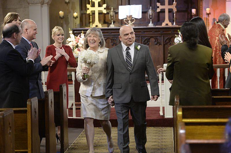 Marjorie's wedding on Mom.