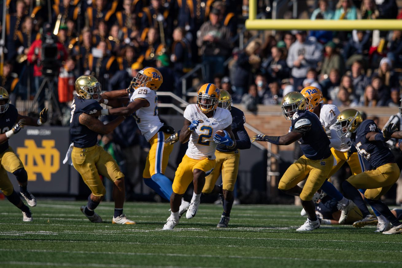 COLLEGE FOOTBALL: OCT 13 Pitt at Notre Dame