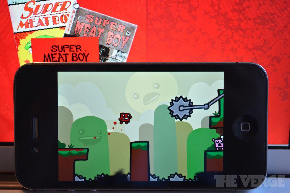 Super Meat Boy iOS
