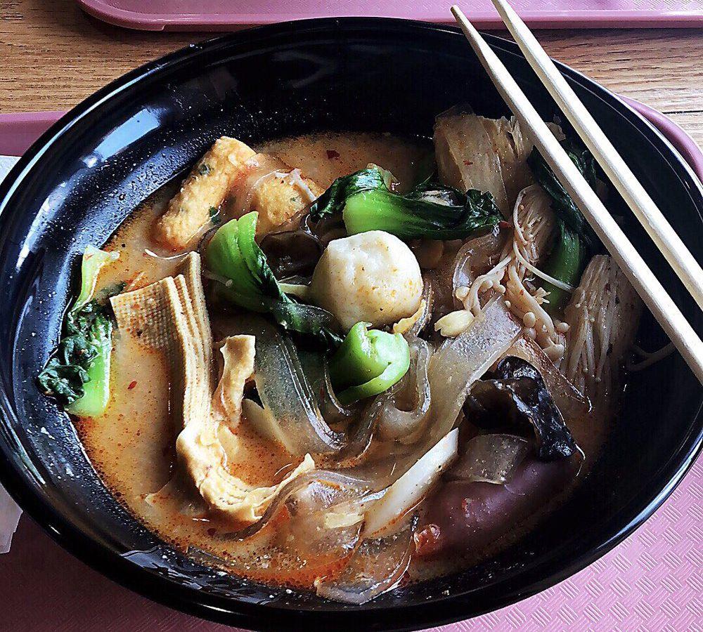 Hot pot at Mala Kungfu