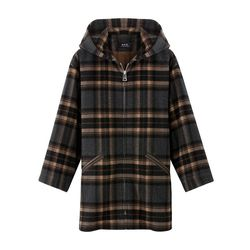 "A.P.C. zip-up 'Burnous' coat, <a href=""http://uscheckout.apc.fr/browse.cfm/4,4333.html?nav=women&subnav=casual-jackets"">$515</a>"