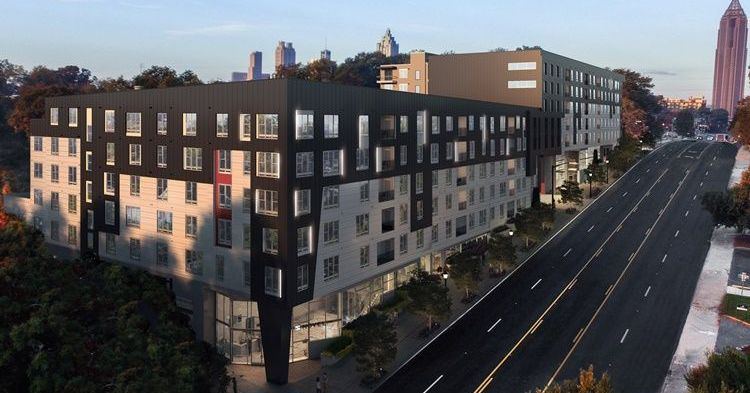 Tiered Apartments Launch At Old Fourth Ward Site Once