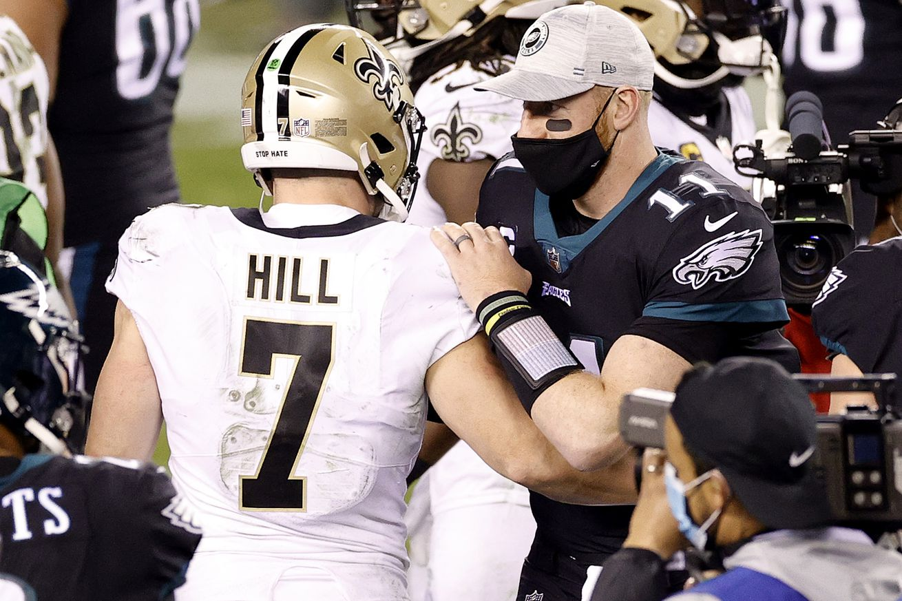 New Orleans Saints v Philadelphia Eagles