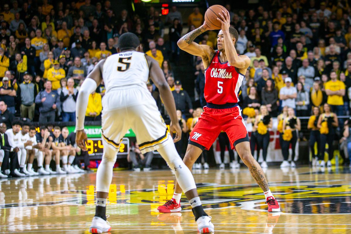 NCAA Basketball: Mississippi at Wichita State