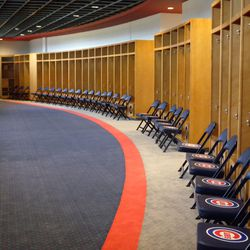 Cubs' clubhouse