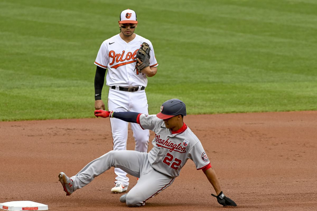 MLB: AUG 16 Nationals at Orioles